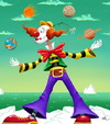 Cartoon: clown (small) by FredCoince tagged clown