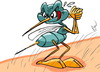 Cartoon: mosquito (small) by FredCoince tagged mosquito,fred,coince,illustration