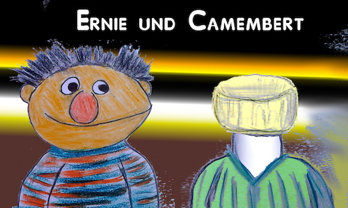 Cartoon: famous couples (medium) by ab tagged ernie,bert,sesamstr