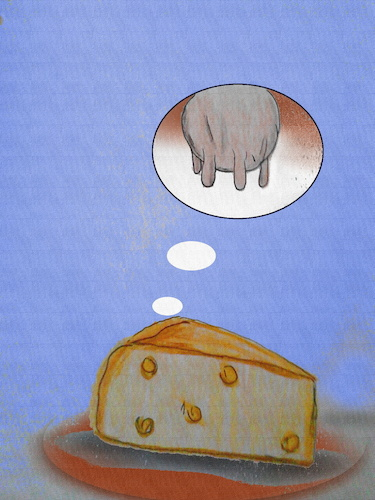 Cartoon: la vie de brie (medium) by ab tagged käse,milch