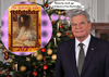 Cartoon: fast vergessen.. (small) by ab tagged gauck,kalender,2017