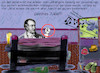Cartoon: goethe I (small) by ab tagged goethe,faust,mittags,schlaf,wut