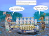 Cartoon: vorsorge (small) by ab tagged virus,corona,vorrat,hamster,kaufen,bayern