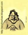 Cartoon: Guillermo Del Toro (small) by WROD tagged guillermo,del,toro