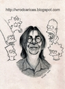 Cartoon: Matt Groening (small) by WROD tagged matt groening the simpsons futurama