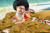 Cartoon: Gulf of Oman (small) by Bart van Leeuwen tagged gulf,of,oman,iran,war,tonkin,khamenei,tanker,attacks