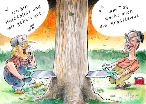 Cartoon: Lumberjacks (medium) by Paolo Calleri tagged usa,alaska,regenwaelder,wald,natur,abholzung,wirtschaft,amazonas,suedamerika,nordamerika,brasilien,umwelt,klima,klimakrise,gruene,lunge,praesident,donad,trump,jair,bolsonaro,protest,landwirtschaft,zukunft,generationen,monty,python,lumberjack,song,holzfaeller,lied,karikatur,cartoon,paolo,calleri,usa,alaska,regenwaelder,wald,natur,abholzung,wirtschaft,amazonas,suedamerika,nordamerika,brasilien,umwelt,klima,klimakrise,gruene,lunge,praesident,donad,trump,jair,bolsonaro,protest,landwirtschaft,zukunft,generationen,monty,python,lumberjack,song,holzfaeller,lied,karikatur,cartoon,paolo,calleri