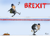 Cartoon: Brexit-Marsch (small) by Paolo Calleri tagged eu,grossbritannien,uk,verinigtes,koenigreich,gb,brexit,austritt,gemeinschaft,premier,premierminister,boris,johnson,parlament,deal,verschiebung,oktober,halloween,wirtschaft,politik,referendum,neuwahlen,demokratie,bruessel,brief,antrag,karikatur,cartoon,paolo,calleri
