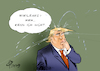 Cartoon: Donald leaks (small) by Paolo Calleri tagged usa,gb,uk,london,botschaft,equador,julian,assange,wikileaks,whistleblower,festnahme,wahlkampf,trump,emails,clinton,twitter,erwaehnungen,karikatur,cartoon,paolo,calleri