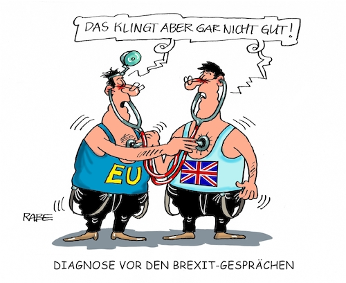 Cartoon: Diagnosegespräche (medium) by RABE tagged eu,brexit,ausstieg,brexitverhandlungen,brüssel,london,may,juncker,rabe,ralf,böhme,cartoon,karikatur,pressezeichnung,farbcartoon,tagescartoon,bedingungen,optionen,ärzte,diagnose,stetoskop,hörrohr,eu,brexit,ausstieg,brexitverhandlungen,brüssel,london,may,juncker,rabe,ralf,böhme,cartoon,karikatur,pressezeichnung,farbcartoon,tagescartoon,bedingungen,optionen,ärzte,diagnose,stetoskop,hörrohr