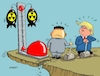 Cartoon: Hau den Lukas (small) by RABE tagged donald,trump,nordkorea,südkorea,washington,knopf,atomknopf,schreibtisch,neujahrsansprache,atomwaffen,atombombe,rabe,ralf,böhme,cartoon,karikatur,pressezeichnung,farbcartoon,tagescartoon,hau,den,lukas,rummelplatz,machthaber,kim,hammer