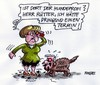 Cartoon: Seehoferkläffer (small) by RABE tagged kanzlerin,merkel,cdu,schwesterpartei,csu,seehofer,bayern,koalitionspartener,koalitionsstreit,betreuungsgeld,herdprämie,kita,hund,hundeprofi,martin,rütter,vox,dackel,terrier,hundeleine,maulkorb,hundetrainer,beisskorb,wadenbeisser,kläffer
