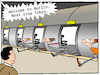 Cartoon: Hyperloop (small) by CloudScience tagged hyperloop,elon,musk,transportation,science,speed,travel,logistics,digital,digitization,disruption,future,startup,development,business