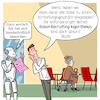 Cartoon: Robo-Recruiting (small) by CloudScience tagged robo,recruiting,recruitment,bewerbung,ki,ai,algorithmen,bewerbungsgespraech,vorstellungsgespraech,filter,daten,analyse,arbeit,zukunft,digitalisierung,digital,roboter,diskriminierung,job,einstellung,hr,personalwesen,unternehmen,management,beruf,innovation,kuenstliche,intelligenz,personal,rekrutierung,it,tech,technik,technologie,future,transformation,wandel,change,businesscartoon