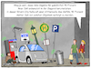 Cartoon: Smart City (small) by CloudScience tagged smart,city,digitalisierung,digital,technologie,vernetzung,stadt,zukunft,digitale,transformation,sensoren,iot,internet,der,dinge,of,things,satire,sarkasmus,selbstfahrendes,auto,intelligenter,muelleimer,intelligenz,ki,ai,daten,big,data,cloud,verfolgung,spionage,auslastung,tech,future,disruption,mobilitaet,verkehr,moeller,illustration