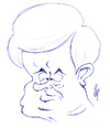 Cartoon: Newt Gingrich (small) by stip tagged caricature,politician,newt,gingrich