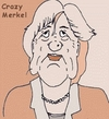 Cartoon: Angela Merkel (small) by michaskarikaturen tagged karikatur,angela,merkel