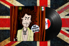 Cartoon: Sid Vicious Parody (small) by Peps tagged punk,sidvicious,sexpistols,malcommaclaren