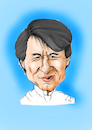 Cartoon: Jackie Chan (small) by Thomas Vetter tagged jackie,chan