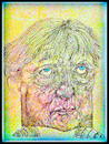 Cartoon: Merkel 2 (small) by Remo37 tagged caricature,drawing