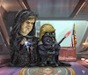 Cartoon: the empire strikes back (small) by mparra tagged bannon,trump,starwars,empire,usa