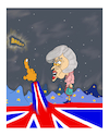Cartoon: BREXIT N0 4 (small) by vasilis dagres tagged england,europe,democracy,fascism,neoliberalism