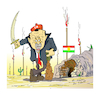 Cartoon: ERDOGAN KOYRDISTAN (small) by vasilis dagres tagged erdogan,toyrkey