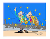 Cartoon: EYROZONE (small) by vasilis dagres tagged eyropean