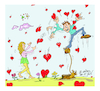 Cartoon: for lovers (small) by vasilis dagres tagged lovers,wisdom,strength
