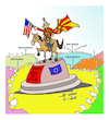 Cartoon: skopia name (small) by vasilis dagres tagged creece