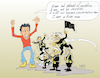 Cartoon: terrorist attack in Spain (small) by vasilis dagres tagged spain,terrorism
