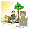 Cartoon: TOLL (small) by vasilis dagres tagged time,free