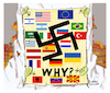 Cartoon: Why fascism? (small) by vasilis dagres tagged fascism,nazism,freedo,democracy,dagres