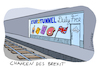 Cartoon: Eurotunnel Duty Free (small) by Lüdemann tagged brexit,chancen,eurotunnel,duty,free,zug,schiene,tunnel,zoll,grenze,england,großbritannien,butterfahrt,europa,frankreich,shop,laden,geschäft,zukunft,alternative,austritt,business,uk,gb,eu,lüdemann,luedemann,karikatur,great,britain,einfuhr,ausfuhr