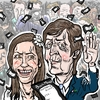 Cartoon: When you divorce (small) by takeshioekaki tagged paul,mccartney,bookmaker