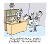 Cartoon: Abfall (small) by Bregenwurst tagged abfall,müll,verpackung,einweg,kaffee,broiler