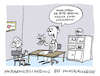 Cartoon: Unsensibel (small) by Bregenwurst tagged allergie,hunde,hyposensibilisierung,chihuahua