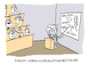 Cartoon: Verschworen (small) by Bregenwurst tagged verschwörungstheorie,uni,vorlesung,aluhut
