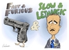 Cartoon: Slow and Lethargic (small) by Goodwyn tagged holder,justice,fast,and,furious,gun,mexico