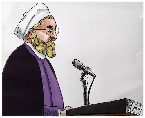 Cartoon: Uranio (medium) by Christi tagged uranio,iran