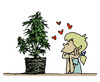 Cartoon: Christmas tree (small) by mortimer tagged mortimer,mortimeriadas,cartoon,ganja,marihuana,tree