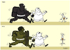 Cartoon: political game. (small) by Sajith Bandara tagged game