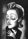 Cartoon: Edith Piaf (small) by menekse cam tagged edith,piaf,singer,marcel,french,france,paris,kadin,sarkc