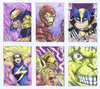 Cartoon: Heroes sketches (small) by bennaccartoons tagged superheroes
