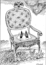 Cartoon: Throne. (small) by Vladimir Khakhanov tagged power