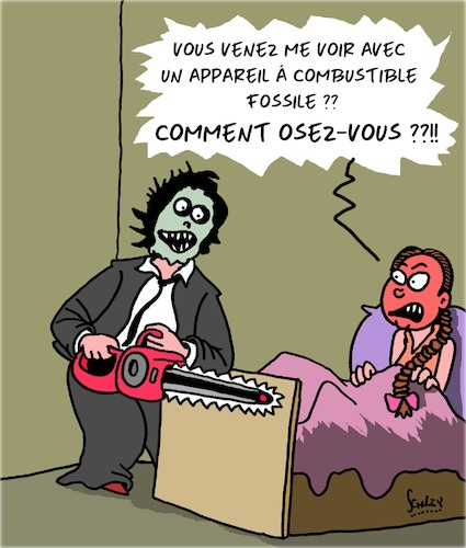 Cartoon: Comment osez-vous?! (medium) by Karsten tagged greta,environnement,climat,combustible,fossile,films,greta,environnement,climat,combustible,fossile,films