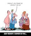Cartoon: Examen (small) by Karsten tagged politique,taxes,examens,fisc,employes,revenu