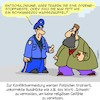 Cartoon: Formulierungen (small) by Karsten tagged religion,emotionen,sprache,korrektheit,deeskalation,polizei,sicherheit,integration,höflichkeit,ethik,gesellschaft,deutschland,europa,politik