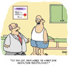 Cartoon: GESPALTEN (small) by Karsten tagged psychologie,psychiatrie,medizin,doktoren,patienten
