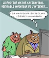 Cartoon: Inventions (small) by Karsten tagged chats,inventions,science,technologie,informatique,recherche